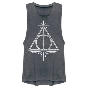 HARRY POTTER Deathly Hollows Tank Top.